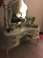 Dressing table makeover 4