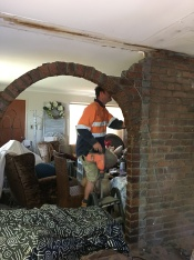 dining wall removal 1