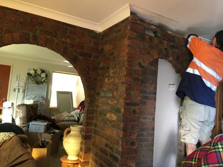 Fridge wall removed 1