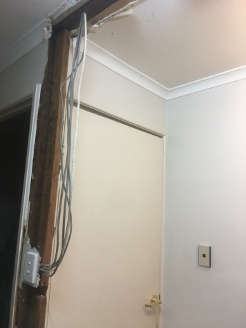 Bathroom wall removal 3