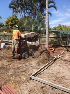 Bobcat prep work